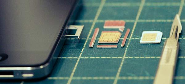 Обрезка старой сим карты под микро сим своими руками - Lumalive